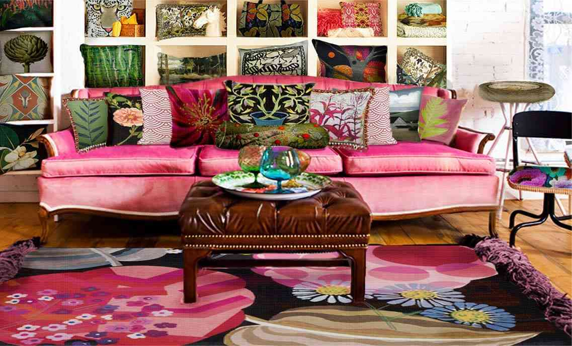 needlepoint canvases and pillows